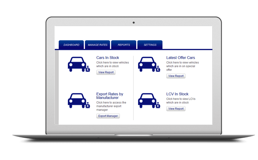 Smartphone and laptop displaying Vehicle Financing System, bespoke software by ioSTUDIOS